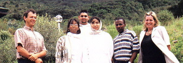 Protea Atlas Project Staff - Photo: Unknown
